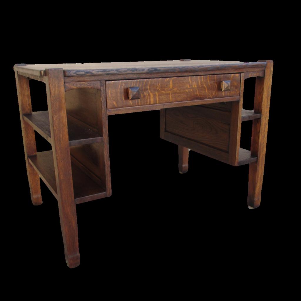 Antique Mission Oak Desk Arts & Crafts Antique Furniture