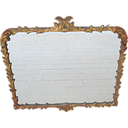 Antique Mirror Carved Painted Mirror Antique Furniture