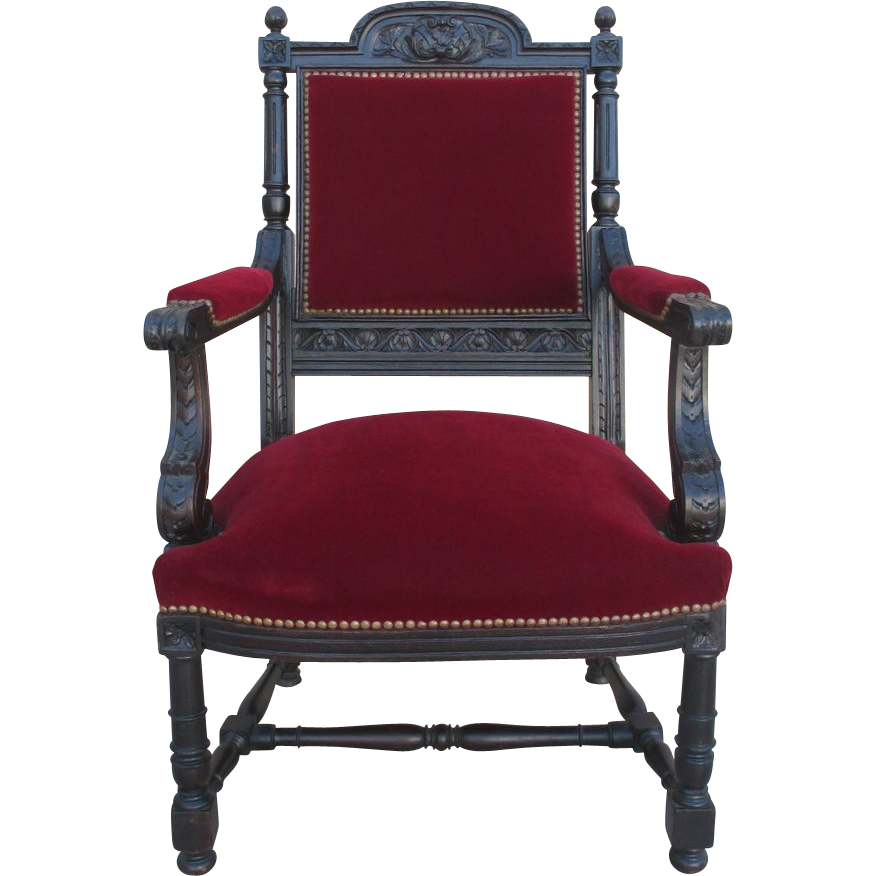 French Antique Carved Armchair Chair Antique Furniture