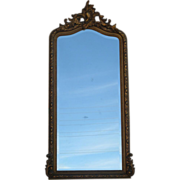 19th Century Gold Gilt Wall Mirror Pier Mirror