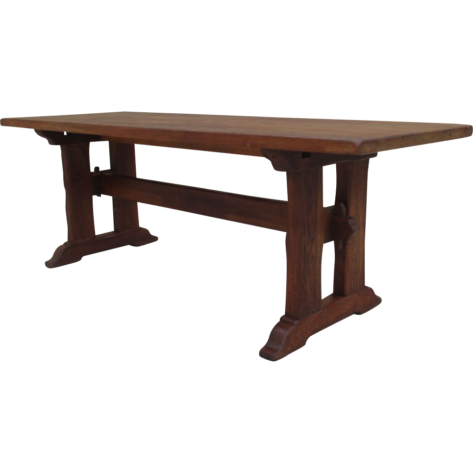 French Antique Trestle Table Dining Table Antique Furniture