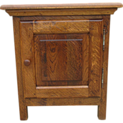 French Antique Rustic Nightstand Cabinet Antique Furniture