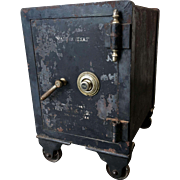 Texas Antique Yale Iron Safe with Combination