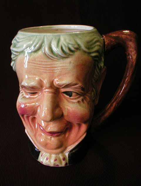 Ucagco Company - Occupied Japan - Figural Face Mug