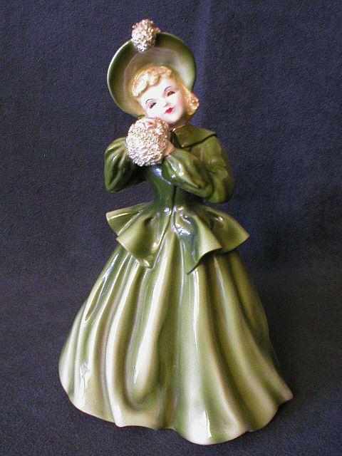 "Florence Ceramics - California -  ""Linda Lou"" Figurine"
