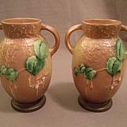 """Roseville Pottery """"Fuchsia"""" Vase, Pattern #892-6"""