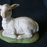 "Edward Marshall Boehm ""Lamb"" Figurine #400-97"