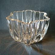 """Kosta Boda Crystal """"Olivia"""" Line Bowl Designed by Anna Ehrner"""