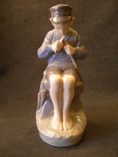 "Royal Copenhagen ""The Whittler"" or ""Shepherd Boy""  Figurine #905"