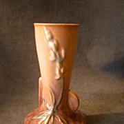 "Roseville Pottery ""Wincraft - Lupine"" Vase #281-6"