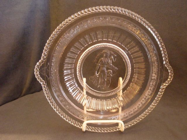 EAPG -  Cupid & Venus (Guardian Angel)  Bread Tray
