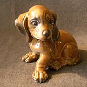 "Rosenthal Porcelain Figurine ""Dashund Puppy"" #1909"