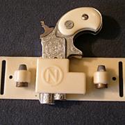 """Nichols """"Dyna-Mite"""" Derringer Cap PIstol, Clip and Extra Bullets"""