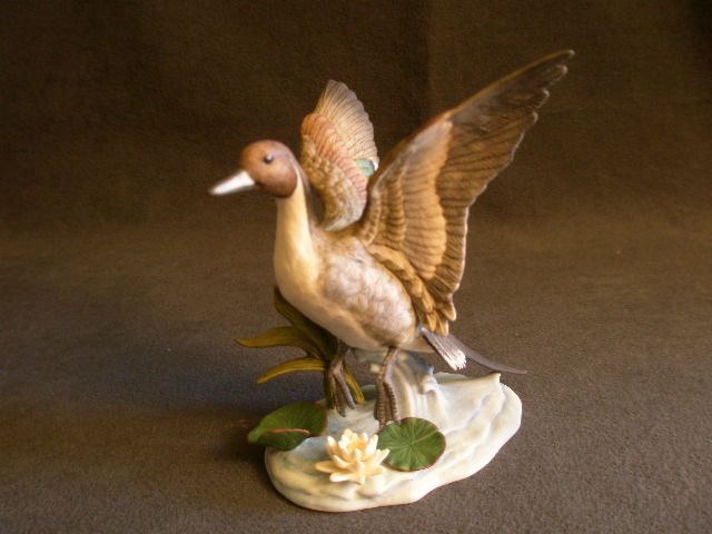 "Lenox ""Porcelain Ducks - Pin-tail Duck"" Sculpture"