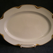 "Charles Haviland & Co. Limoges ""Silver Anniversary"" Small Oval Serving Platter- Schleiger #19"