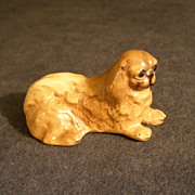 "Mortens Studio Miniature ""Pekingese"" Dog Figurine"