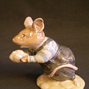 "Royal Doulton ""Teasel"" Figurine from Brambly Hedge Collection"