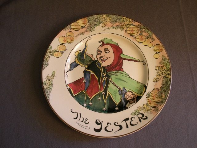 "Royal Doulton Professional Series ""The Jester"" Plate - D6277"