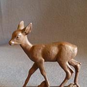"Meissen Bottgersteinzeug ""Roe Deer"" Figurine - A1253"