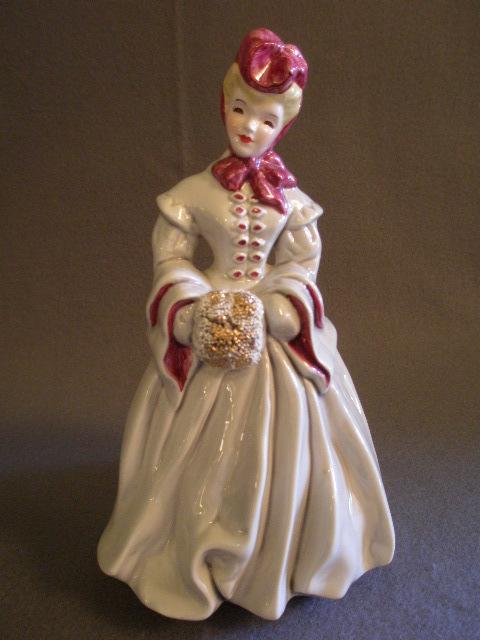 Florence Ceramics California Quot Delia Quot Figurine From