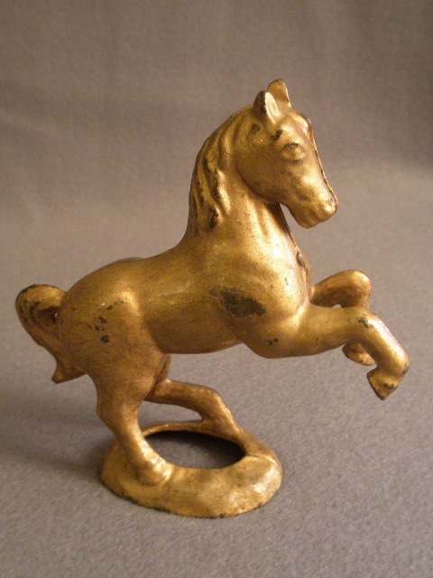 Cast Iron Prancing/Rearing Horse Still Bank