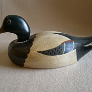 "Illinois Hand Carved & Painted ""Mallard Drake"" Decoy - Charles Moore"