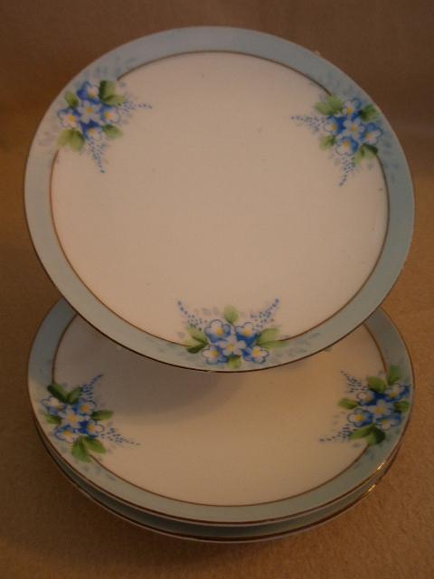 Noritake Chikaramachi Porcelain Set Of 3 Hand Painted B