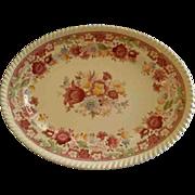 "Johnson Brothers Transfer ""Winchester"" Pattern Oval Serving Platter"