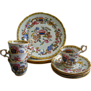 "Hammersley Bone China ""Old Country"" Pattern 12-Piece Dessert Set"