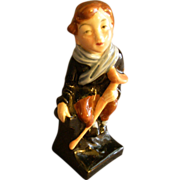 "Royal Doulton Bone China ""Tiny Tim"" Figurine - Charles  Dickens"
