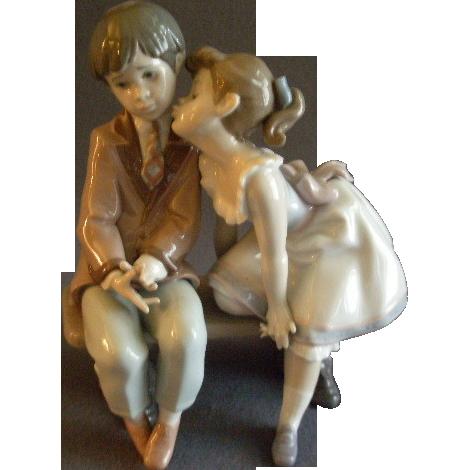 "Lladro ""Ten & Growing"" Porcelain Sculpture #07635"