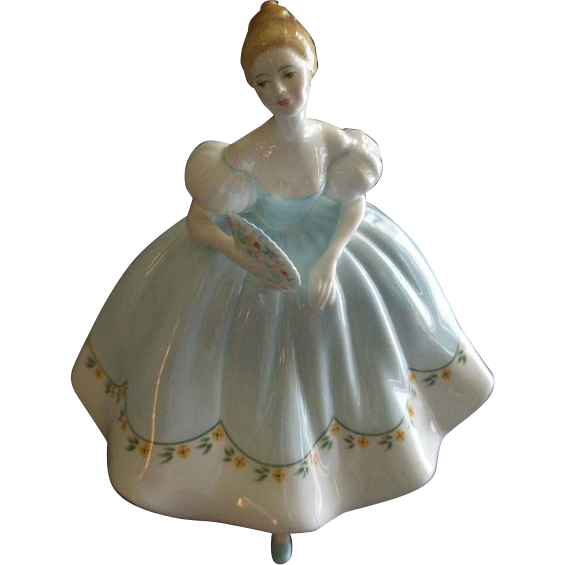 "Royal Doulton ""First Dance"" Figurine HN 2803 by Peggy Davies"