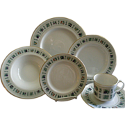 "24 Pc. Royal Doulton ""Tapestry"" Pattern Dinner-ware Service"