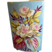 Charles Field Haviland Hand Painted Cache Pot or Vase w/Floral Motif