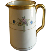"Pickard Studio Hand Painted ""Russian Flowers"" Series, Milk Pitcher"