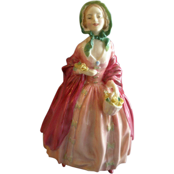 "Royal Doulton ""Rosebud"" Figurine HN 1983 by Leslie Harradine"