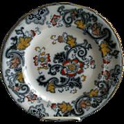 Ashworth Bros. 'Aurora' Pattern B9466 Dinner Plate - Original Francis Morley Design