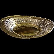 William Hutton & Sons Ltd - London Sterling Silver - Tea Biscuit Basket - Circa 1909