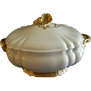 Charles Haviland & Co. Limoges Covered Oyster Tureen - Henri II, Schleiger #10 Blank - Circa 1880