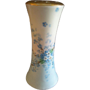 "Luken Studio Hand Painted ""Forget-Me-Not"" Pattern Hat Pin Holder"