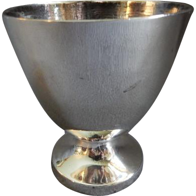 Maciel Silver Factory Mid-Century Sterling Silver Chalice