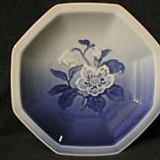 "Bing & Grondahl ""Copenhagen Blue"" Floral Bowl"