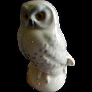 Goebel White Snow Owl Bird Figurine