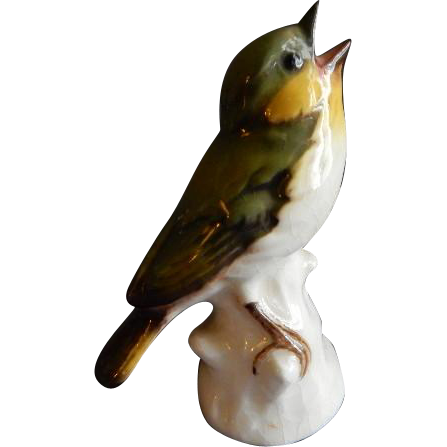 Goebel Wood Warbler Bird Figurine