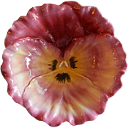 "Royal Bayreuth Figural ""Pansy"" Serving Bowl"