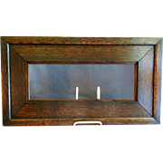Arts & Crafts Era Mission Oak Picture Frame