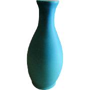 "Van Briggle ""Original"" Vase - Turquoise Ming Glaze - Fred Wills"