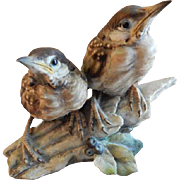"Tay Porcelain ""Fledgling Blackbirds"" Figurine"