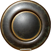 Arts & Crafts Bronze Charger Plate