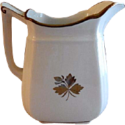 Alfred Meakin Ironstone Tea Leaf Milk Pitcher